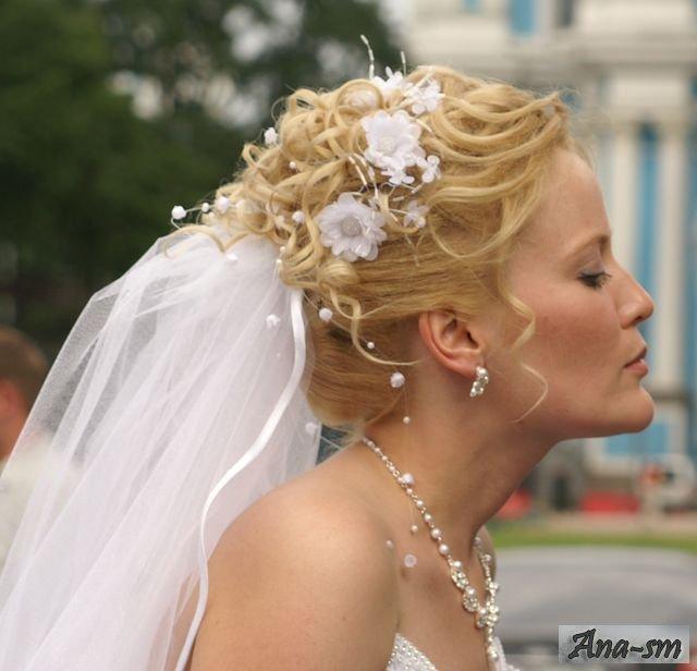 Свадебные прически, фото