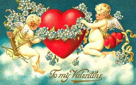 Ангелочки на день святого валентина своими руками