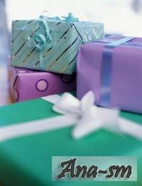 Подарки молодоженам. Часть третья.