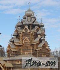 Петербургские Кижи - деревянный собор на Неве