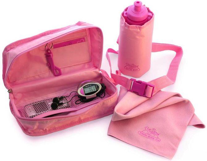 Розовый подарок для блондинки
