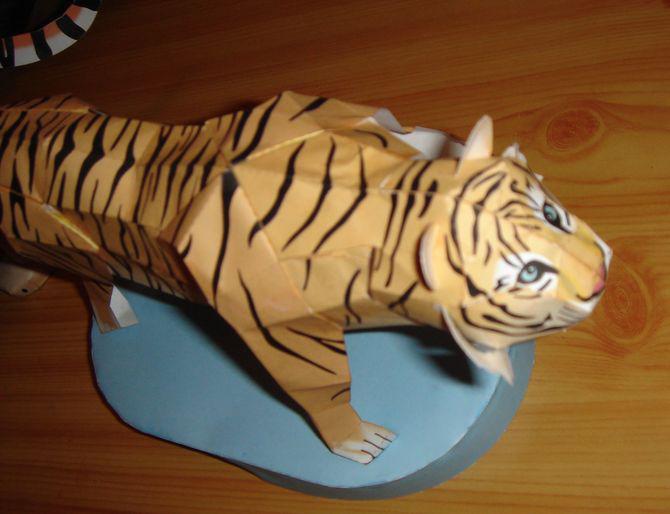 Тигра сделать своими руками