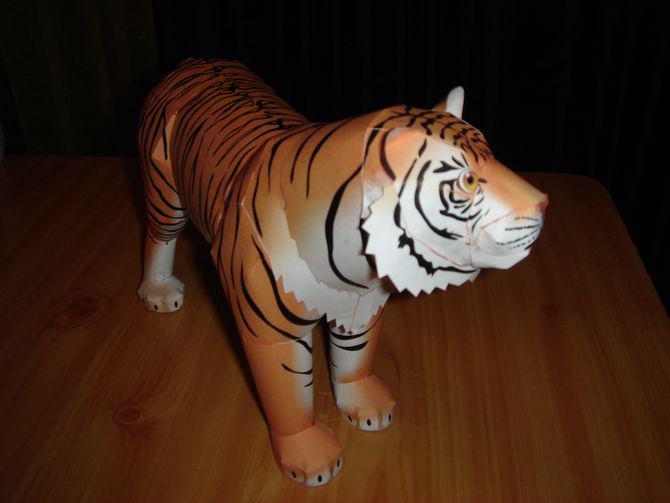 Как сделать своими руками тигра 34