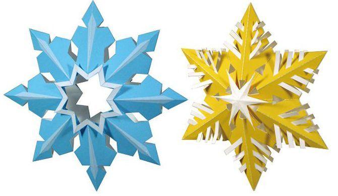 Новогодние звезды своими руками
