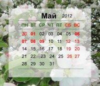 Как отдыхаем на майские праздники в 2012 году